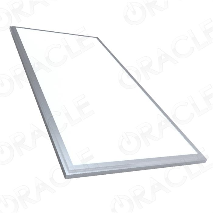 "24 X 24 Led Light Fixture: 24"" X 48"" Flat Panel LED Ceiling Fixture"